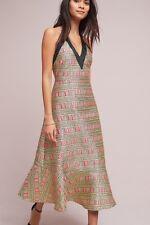 NWT Anthropologie Cynthia Rowley Brocade Halter Dress  Size 8 $575