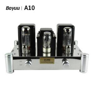 Boyuu A10 HiFi Class A 6N2x2 EL34x2 5Z4Px1 Single-Ended Lamp Tube Amplifier