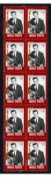 CONWAY TWITTY, COUNTRY STAR STRIP OF 10 MINT VIGNETTE STAMPS 5