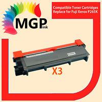3x Fuji Xerox Compatible Toner CT202330 1200 Pages-DocuPrint P225DW P265DW M225Z