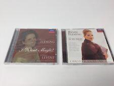 Renee Fleming CD Lot I Want Magic 1998 The Schubert Album 1997