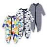100% Cotton Baby Romper Jumpsuit Bodysuit Wondersuit Sleep Toddler Boy Cloth2