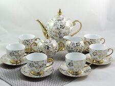 """Service de Table Porcelaine 15-tlg Thé à Café """" Série D'OE """""""
