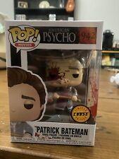 New listing Patrick Bateman Funko Pop Movies 943 American Psycho Rare Chase Bloody Axe