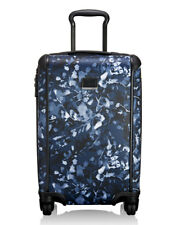 "STUNNING Tumi Tegra Lite International INDIGO FLORAL 22"" Carry on Luggage $695"