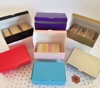 Wedding Party Favours  Cake Slice boxes - Various ~ Colours~Quantity 105x65x35mm