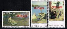 Australia Specimen Stamps
