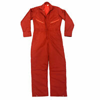 Vintage Work Coveralls Men's Size S Reg One Piece Mechanic Roughneck Made in USA