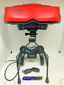 Nintendo Virtual Boy Console -Needs New Power Cord & Controller *CCGHouse* Parts