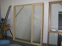 CASEMENT WINDOW WITH DOOR -BRAND NEW