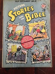 PICTURE STORIES FROM THE BIBLE No  2    BY EDUCATIONAL COMICS VG/F  (5.0) 1940s
