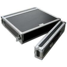 "Flightcase 2he 19"" perforados V + H max. profundidad 41cm 9mm multiplex rack CASE profesional"