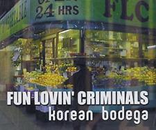 "FUN LOVIN' CRIMINALS ""Korean Bodega"" RARE PROMO CD SINGLE ( 1999 )"