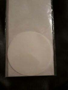 Stampin Up - White Creped Filter Paper - 12 Pcs