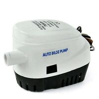 24V 750GPH Automatic Bilge Pump Auto Boat Submersible Pump Marine Float Switch i