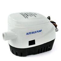 24V 750GPH Automatic Bilge Pump Auto Boat Submersible Pump Marine Float Switch i