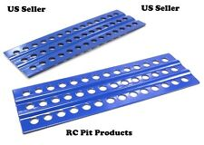 RC Truck Rock Crawler Scale Accessories RECOVERY RAMPS Extraction LADDER Blue #2