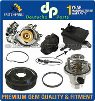 WATER PUMP + GASKET + PULLEY + THERMOSTAT ASSEMBLY + EXPANSION TANK for BMW E60