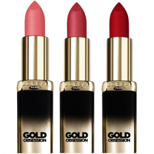 L'Oreal Color Riche Gold Obsession Lipsticks Choose Shade Below Sealed