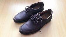 New Clarks Mens Dark Brown Leather Shoes Size 9.5G