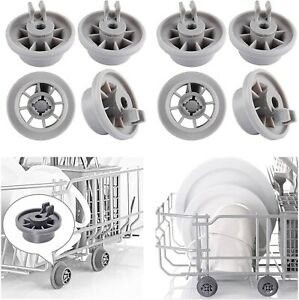Accessories Dishwasher Wheels Lower Basket Plastic Rollers High Quality