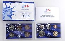 2006 US Mint Proof Set w/ Box & COA 10 Coins  C1