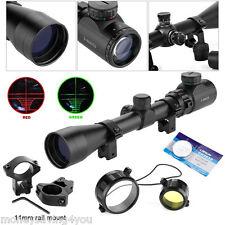 3 - 9 x 40 Luftgewehr Zielfernrohr Mil Dot Riflescope mit Montagen