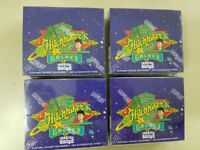 4 Box LOT 1994 The Hitchhikers Guide to the Galaxy Trading Cardz Factory Sealed