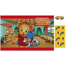 DANIEL TIGER'S NEIGHBORHOOD PARTY GAME POSTER ~ Birthday Supplies Activity Decor