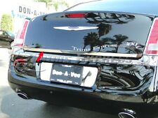 11-17 Chrysler 300 300C Rear Trunk Lower Trim Accent Chrome Door Cover Stainless
