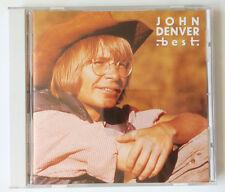 CD JOHN DENVER - BEST ( 20 TRACK EDITION JAPAN CD SELTEN RAR )