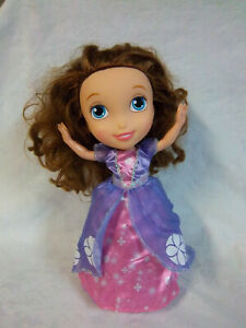 """Disney 14"""" Sofia the First Magic Dancing Singing Princess Interactive Doll Toy"""
