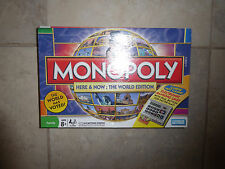MONOPOLY HERE & NOW: THE WORLD EDITION ELECTRONIC BANKING GAME, 2008