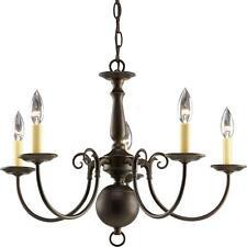 Progress Lighting Americana 5-Light Antique Bronze Chandelier P4346-20