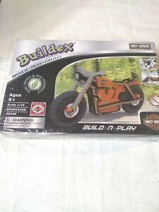 Buildex Harley-Davidson Motorcycle Wood Model Kit 20348 Sportster