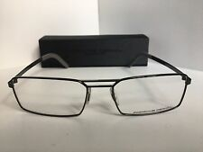 New PORSCHE DESIGN P 8282 P8282 D 55mm Gunmetal Eyeglasses Frame Italy