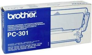 Genuine Brother PC-301 Thermal Ribbon Cartridge FAX-750/760/800 SERIES