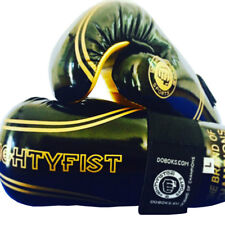 MIGHTYFIST SPORTS gants noir/gold Taekwondo taille M *NEUF*
