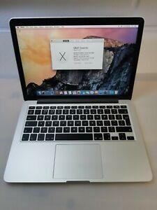 Apple MacBook Pro 13in Retina early 2015 Core i5 2.9GHz 8 GB RAM 500GB SSD