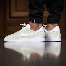 Nike Bruin entrenadores UK Size 10.5 Mens Blanco Gamuza vela Nuevo y en caja 845056101 Vintage