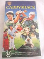 Caddyshack VHS Pal Region Pre-owned. M15+ Rated. 1982 Warner Bros.