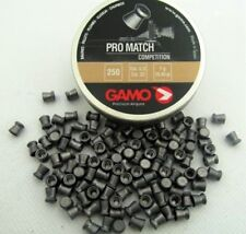 Gamo Pro Match competencia 5.5 mm cal.22 250 Piezas. Airgun Pellets Rifle de aire