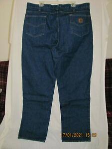 Carhartt B180 PRW 42 X 34 Blue Jeans XLNT Condition