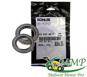 PACK OF 2 Genuine Kohler PTO Oil Seals 25-032-06S 25 032 06-S