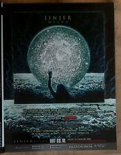 Publicité advert concert album tournée advertising JINJER 2019 Lp macro