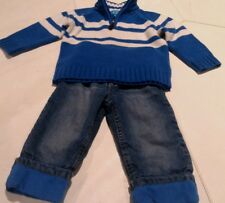 LOT OF Boys Cloths 18-24 Mo Jeans Sweater The Childrens Place