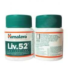 5 X Himalaya Liv 52,For Liver Health,100 Tabs in Each Bottle,Free Shipping