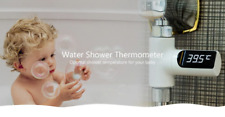 LED Display Water Shower Thermometer Self-Generating Electricity Water Temp