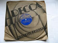 """The Rhythm Maniacs """"In A Kitchenette /Tip-Toe Through TheTulips""""78rpm,Soundtrack"""