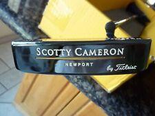 1995 Titleist Scotty Cameron 1/500 Newport Titleist Putter With Headcover Gip